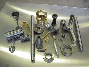 Några mekaniska detaljer från Nora Finmekaniska